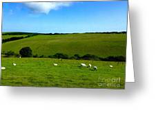 A View Over Exmoor 2 Greeting Card