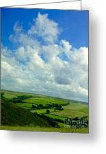 A View Over Exmoor Greeting Card