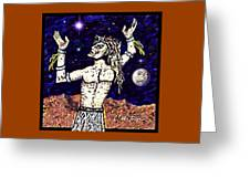A  Viking Warrior  Greeting Card