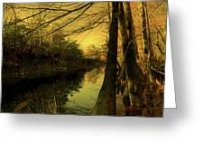 A Vision Of Autumn Greeting Card