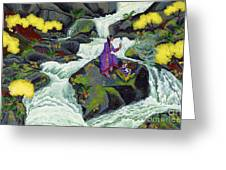 A Visit From Whirlwind Greeting Card