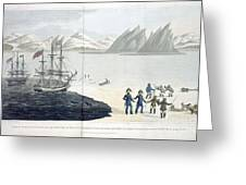 A Voyage Of Discovery Greeting Card