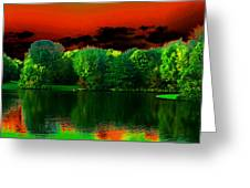 A Walk In The Park 1 Greeting Card