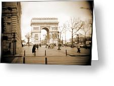A Walk Through Paris 3 Greeting Card