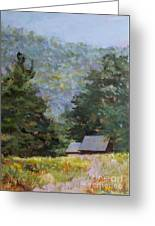 A Walk To Great Meadow Greeting Card