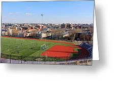 A Washington View From Cardoza High School Greeting Card