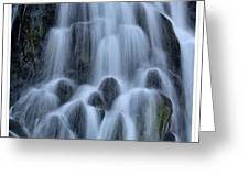 A Waterfall In Iceland Greeting Card