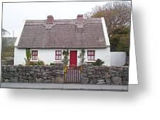 A Wee Small Cottage Greeting Card