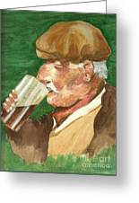 A Welcome Pint Greeting Card