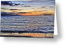 A Western Maui Sunset Greeting Card