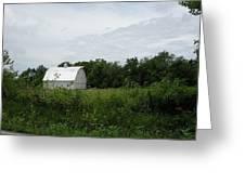 A White Barn In Missouri Greeting Card