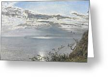A White Calm After Thunder Showers Greeting Card