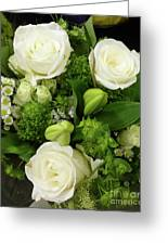 A White Roses Bouquet For You Greeting Card