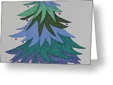 A Wild Christmas Tree Greeting Card