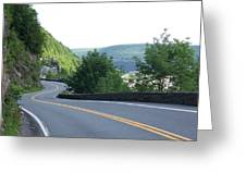 A Winding Road Greeting Card