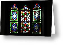 A Window To The Past Greeting Card