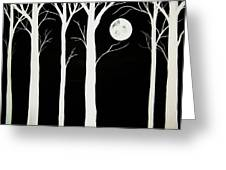 A Winters Night Greeting Card