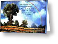 A Word Of Hope Greeting Card