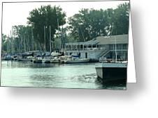 A Yacht Club Greeting Card