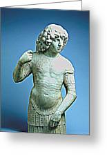 A Young Warrior, Tullio Lombardo Poster 2 Greeting Card