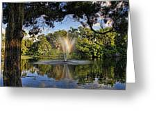 A Zen Oasis By H H Photography Of Florida Greeting Card