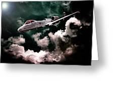 A10 Thunderbolt In Flight Greeting Card