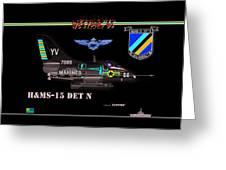 A4-c Skyhawk Vsf Greeting Card
