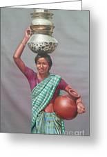 Aadibasi Greeting Card