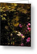 Aagaard Carl Frederick The Rose Garden Greeting Card