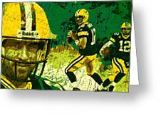 Aaron Rodgers 2015 Greeting Card