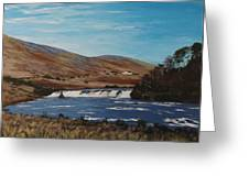 Aasleagh Falls Greeting Card