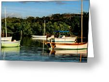 Abacos Quiet Greeting Card