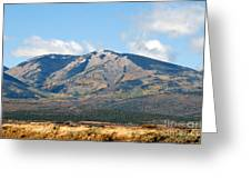 Abajo Mountains Utah Greeting Card