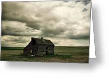 Abandoned Barn  Greeting Card