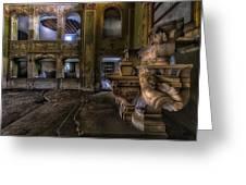 Abandoned Chapel Of An Important Liguria Family II - Cappella Abbandonata Di Famiglia Ligure 2 Greeting Card