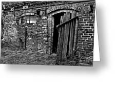 Abandoned Country Barn Greeting Card