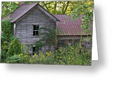 Abandoned Farmhouse On Stacy Fork Greeting Card
