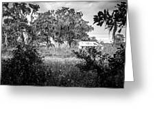 Abandoned Farmhouse Greeting Card
