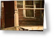 Abandoned House - Abandoned Porch Greeting Card