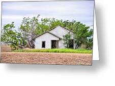 Abandoned House Greeting Card