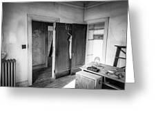 Abandoned House Wilson Nc 0015 Greeting Card