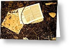 Abandoned Kp Book 1 Greeting Card