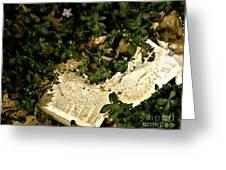 Abandoned Kp Book 2 Greeting Card
