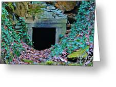 Abandoned Mine Greeting Card