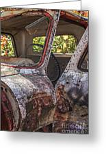 Abandoned Old Truck Newport New Hampshire Greeting Card