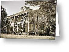 Abandoned Plantation House #3 Greeting Card
