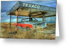 Abandoned Silverado Greeting Card