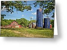 Abandoned Spring Farm Greeting Card