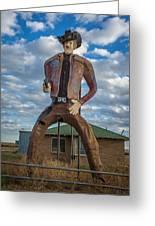 Abandoned Texas #3 Greeting Card