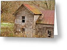 Abandoned Turn Of Centruy Home Greeting Card